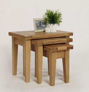 Provence Oak Nest Of Tables