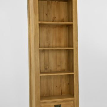 Elegance Oak Medium Bookcase
