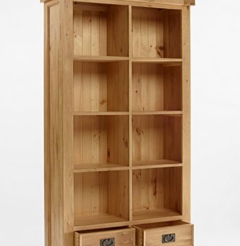 Elegance Oak Large Bookcase