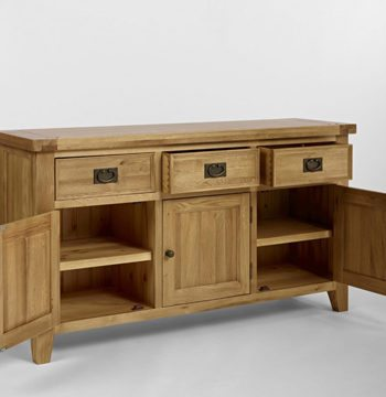 Elegance Oak Medium Sideboard