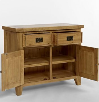 Elegance Oak Small Sideboard