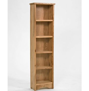 Lansdown Oak Medium CD DVD Rack