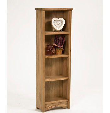 Lansdown Oak Small CD DVD Rack