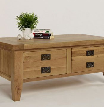 Provence Oak 2 Drawer Coffee Table