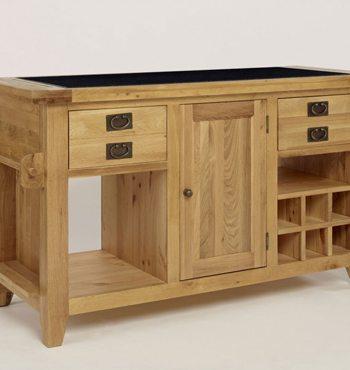 provence oak granite top kitchen island unit mottisfont painted kitchen island unit oak furniture