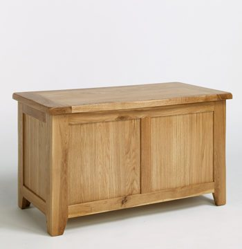 Westbury Reclaimed Oak Blanket Box