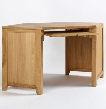 Westbury Reclaimed Oak Corner Desk Unit