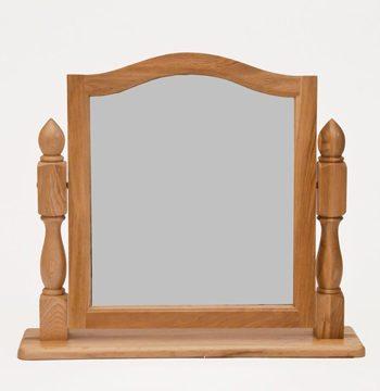 Westbury Reclaimed Oak Dressing Table Mirror