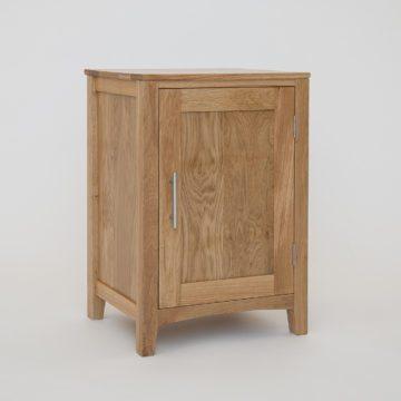 Hereford Oak 1 Door Cabinet