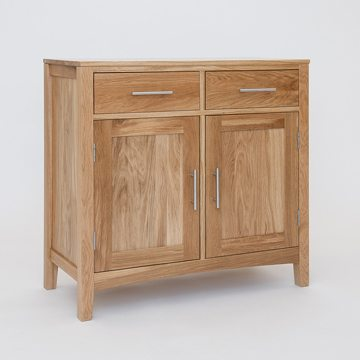 Hereford Oak 2 Door Sideboard Base 1