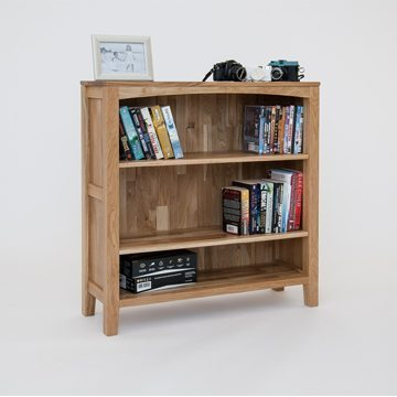 Hereford Oak 3x3 Bookcase 2