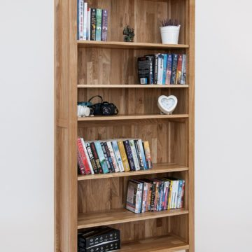 Hereford Oak 6x3 Bookcase