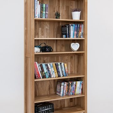 Hereford Oak 6x3 Bookcase 2