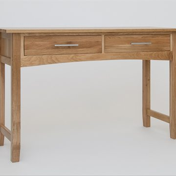 Hereford Oak Console Dressing Table 1