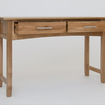 Hereford Oak Console Dressing Table 2
