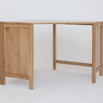 Hereford Oak Corner Desk 1