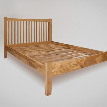 Hereford Oak Double Bed 1