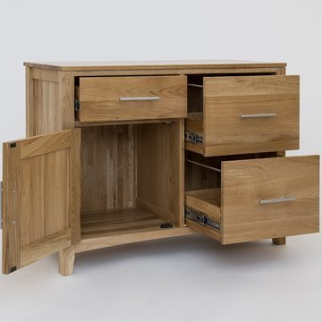 Hereford Oak Double Unit with Cupboard 2