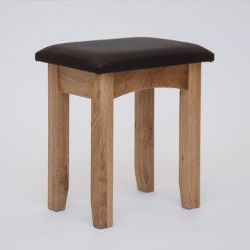 Hereford Oak Dressing Table Stool