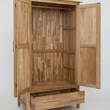 Hereford Oak Gents Wardrobe 2