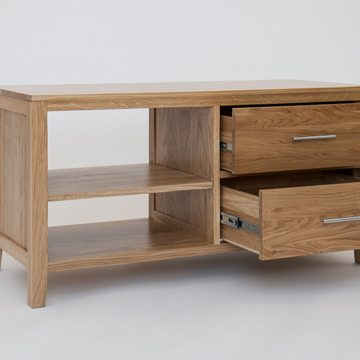 Hereford Oak TV Unit 2