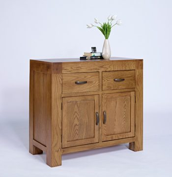 Santana Rustic Oak Small Sideboard
