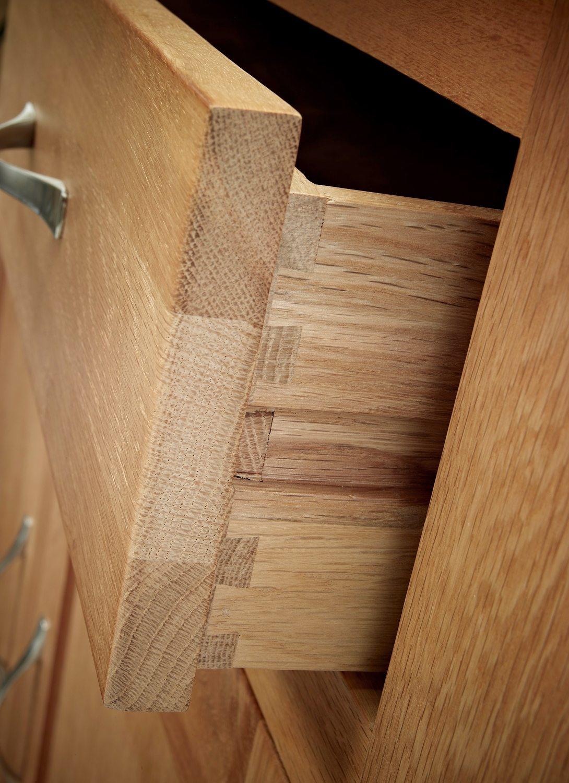 Sherwood Oak Single Pedestal Desk