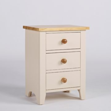 Camden Nightstand 3 Drawer