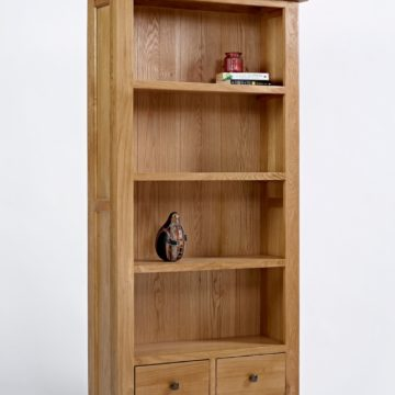 Devon Oak Large Bookcase