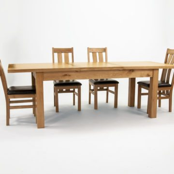 Devon Oak Extending Dining Table 180 to 240 cm