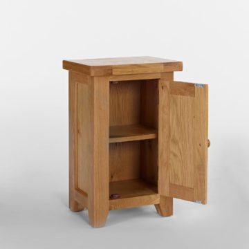 Devon Oak 1 Door Cupboard