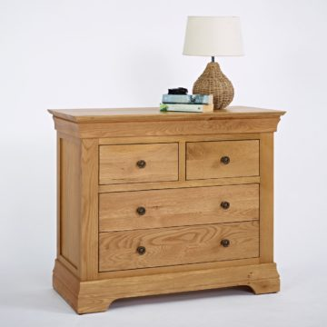Normandy Oak 2 Over 2 Drawer Chest