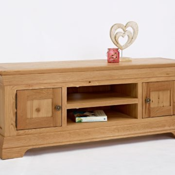 Normandy Oak Large Widescreen TV Unit