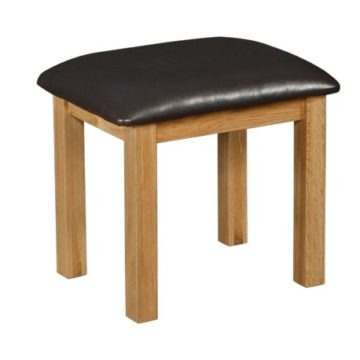 Normandy Oak Dressing Table Stool