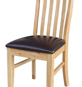 Devon Oak Lancaster Slatted Dining Chairs