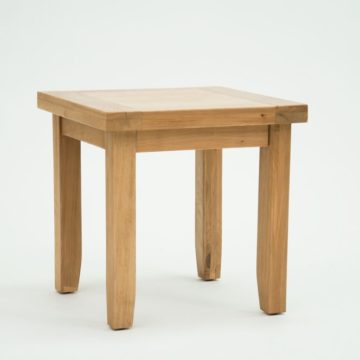 Devon Oak Lamp Table