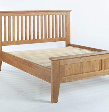 Sherwood Oak 4ft 6 Double Bed