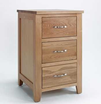 Sherwood Oak Cabinet 3 Drawer