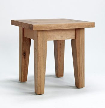 Sherwood Oak Lamp Table