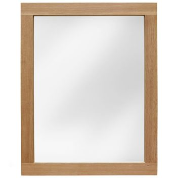 Sherwood Oak Leaner Wall Mirror 120cm
