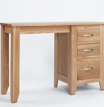 Sherwood Oak Pedestal Dressing Table