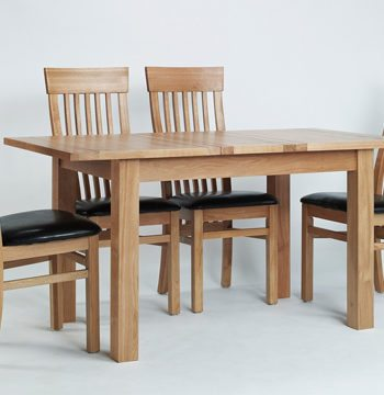 Sherwood Oak Small Extending Table 1 Insert