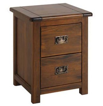 Boston Darkwood Petite Bedside Cabinet
