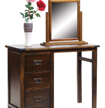 Boston Darkwood Pedestal Desk