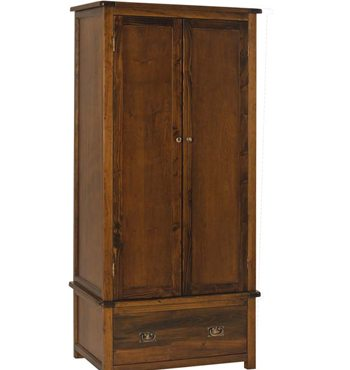Boston Darkwood 2 Door 1 Drawer