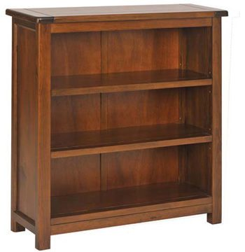 Boston Darkwood Low Bookcase