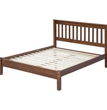 Boston Darkwood Double Bed