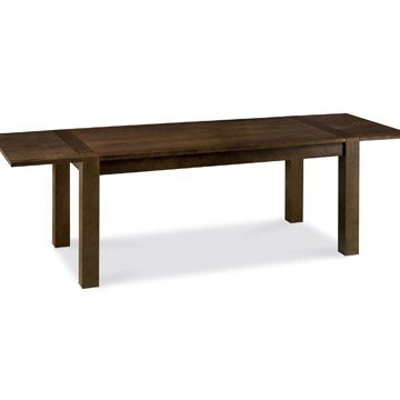 Lyon Walnut 6 to 8 Double End Extending Table
