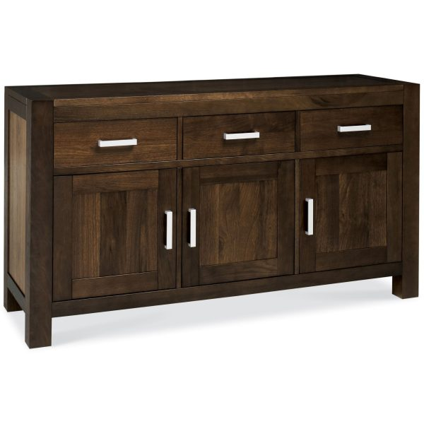 Lyon Walnut Wide Sideboard