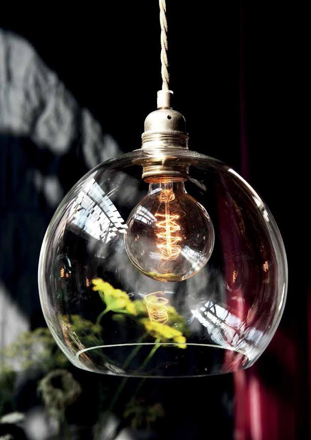 Rowan Pendant Lamp 39cm Clear
